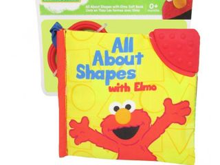 Sesame Street All About Shapes Soft Book