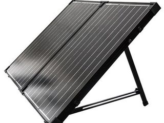 Renogy 100W 12V Monocrystalline Off Grid Portable Foldable Solar Panel Suitcase Built In Kickstand  269 99