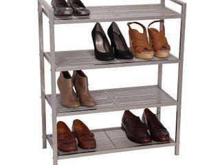Household Essentials 12 Pair Shoe Rack