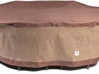 Duck Covers Ultimate Rectangle Patio Table with Chairs Cover  Retail 82 49
