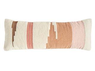 3R Studios Handwoven Cotton Kilim Breakfast Pillow
