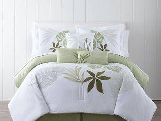 Panama Jack lagoon Embroidered 7 piece Comforter Set