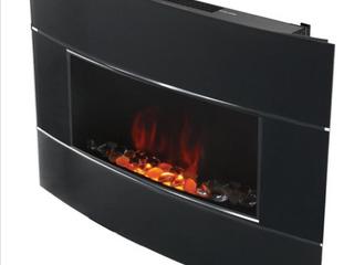 Bionaire Black Electric Fireplace  Retail  269 99
