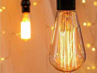 Edison light Bulb 60w E26   set of 3