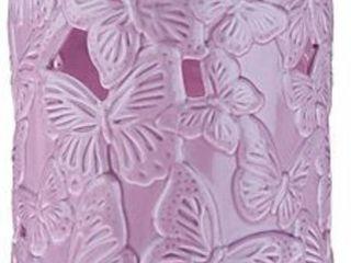 HomeWorx by Harry Slatkin 8 5  Ceramic Butterfly lilac
