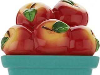 HomeWorx by Harry Slatkin Ceramic Fruit Basket 9 oz Candle