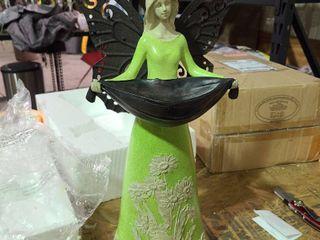 Garden Fairy Statue by Valerie