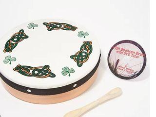 Michael Vignoles 12  Irish Bodhran Drum with DVD