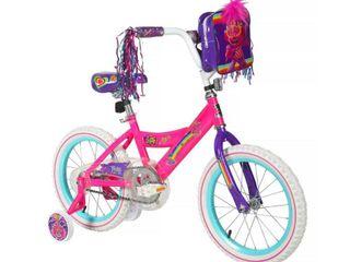 Trolls World Tour 16  Kids  Bike   Pink