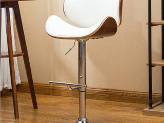Strick   Bolton lega Modern Adjustable Swivel Barstool  Retail 96 49 set of 2