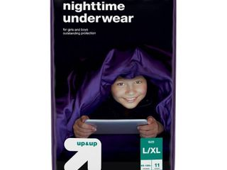 Nighttime Underwear Size l Xl   11ct   Up Up   set of 3