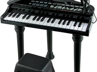 Symphonic Grand Piano Set with a Detachable Microphone