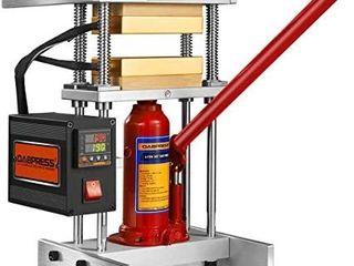 DABPress 4 Ton Heat Press Machine with Dual 3x5  Heated Plates