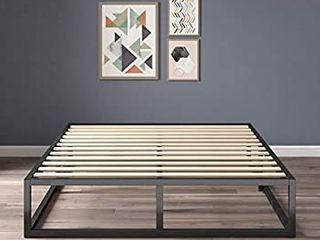 Zinus Joseph 10 Inch Metal Platforma Bed Frame   Mattress Foundation   Wood Slat Support   No Box Spring Needed   Sturdy Steel Structure  Full