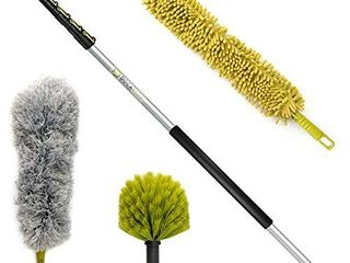 DocaPole 30 Foot High Reach Dusting Kit with 7 30 Foot Extension Pole