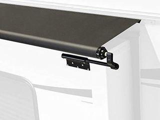 Solera V000168106 Black Slide Topper Awning   8   7 7  Fabric