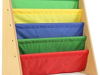 Humble Crew Kids Book Rack Storage Bookshelf Natural Primary   MISSING 2 METAl BARS