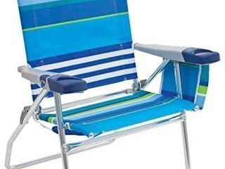 Rio Beach 17  Extended Height 4 Position Folding Beach Chair