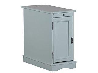 Powell Furniture Butler Accent Table  Aqua  Small