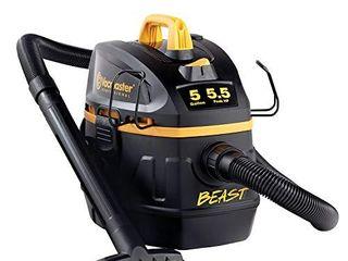 Vacmaster Professional   Professional Wet Dry Vac  5 Gallon  Beast Series  5 5 HP 1 7 8  Hose Jobsite Vac  VFB511B0201  Black