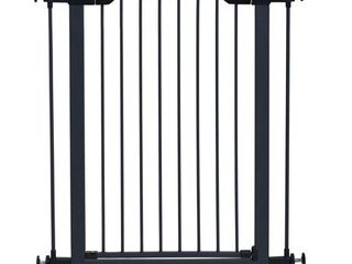 MidWest Graphite Steel Pet Gate  39 H  fits up to 38  Wide