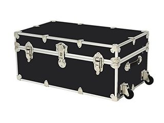 Rhino Trunk and Case large Armor Trunk with Wheels  32  x 18  x 14  Black