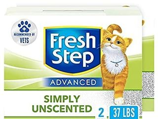 Cat litter With Activated Charcoal   Natural Odor Control   Unscented  37 lb