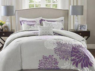 Comfort Spaces Enya 5 Piece King Comforter Set Bedding