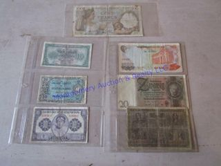 OlD EUROPEAN CURRENCY