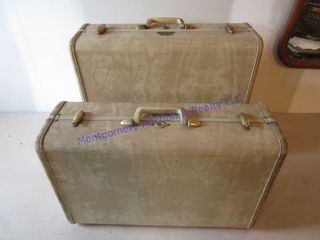 2 SAMSONITE SUITCASES