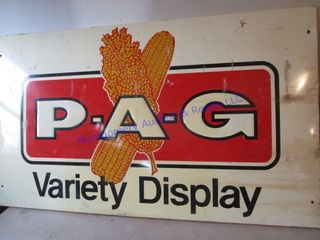 P A G VARIETY DISPlAY SIGN