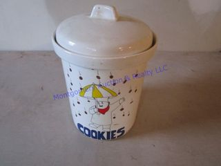 COOKIE JAR CANNISTER