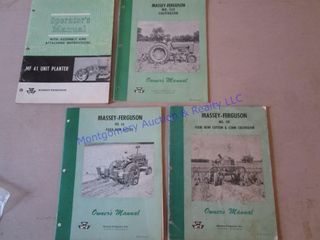 MF MACHINERY MANUAlS