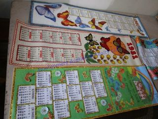 BEADED ClOTH CAlENDARS