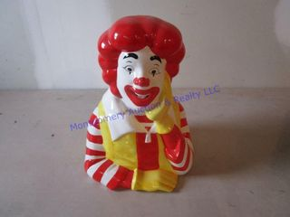 RONAlD MCDONAlD COOKIE JAR