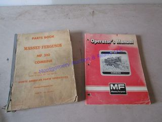MASSEY FERGUSON COMBINE MANUAlS
