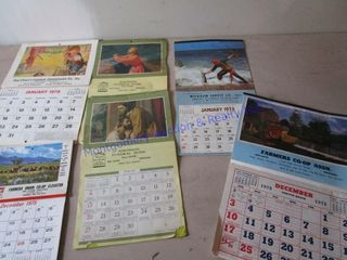 1970S RED ClOUD CAlENDARS