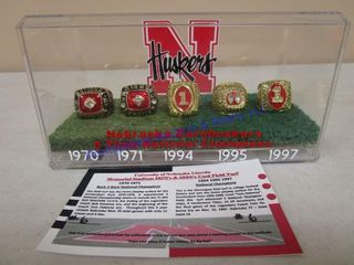 NATIONAl CHAMPION RINGS