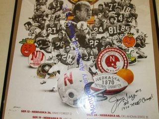 1970 HUSKERS POSTER