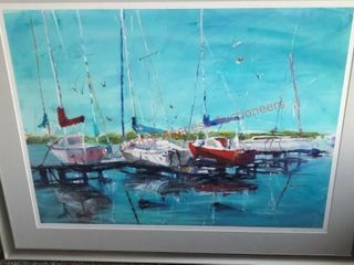 Harbor  3  Grace Haverty Watercolor