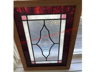 Stained leaded Glass