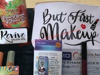 Makeup Bag With Goodies