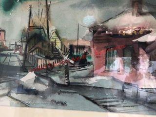 Original Charles Beck Watercolor