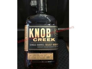 MN lakes edition Knob Creek Bourbon