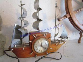 ElECTRIC SHIP ClOCK