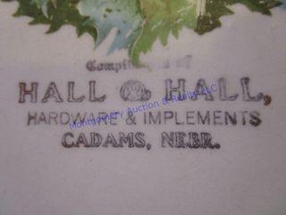 CADAMS PlATE HAll   HAll