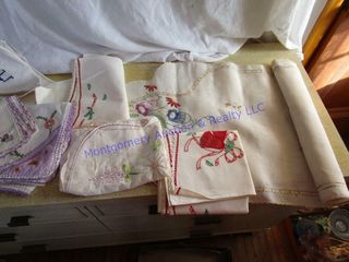 EMBROIDERED WORK