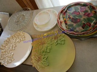 PlATTERS AND SERVING TRAYS