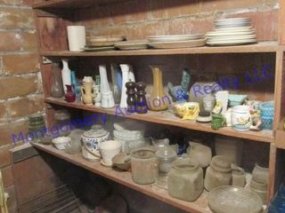 VASES JARS AND OTHER