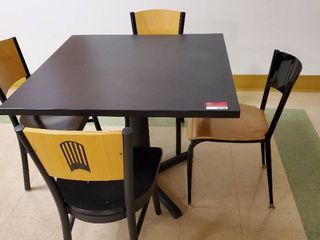 3ft x 3ft Table With 4 Chairs